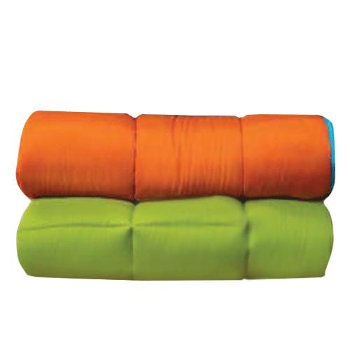 997 Κουβερτίνα Μicrofiber Πορτοκαλί - Λαχανί 2 διαστάσεις