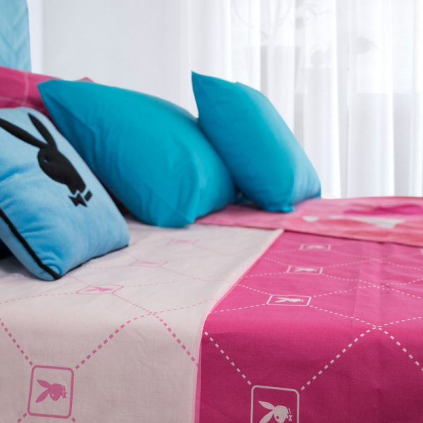 ΡΒ Αll Οver Κουβερτίνα 225Χ250 Βαμβ 100% Ροζ Φούξια