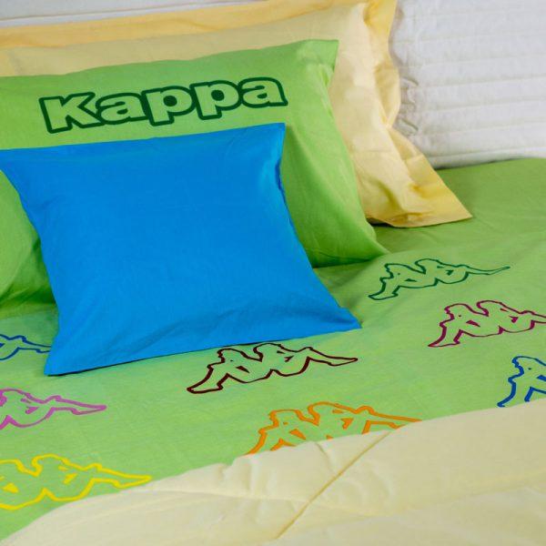 917 Παπλ/θήκη Kappa Λαχανί 100%COT 170Χ250 2Τμχ