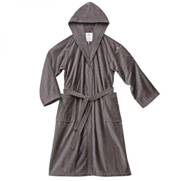 110-401 Μπουρνούζι Dark Grey