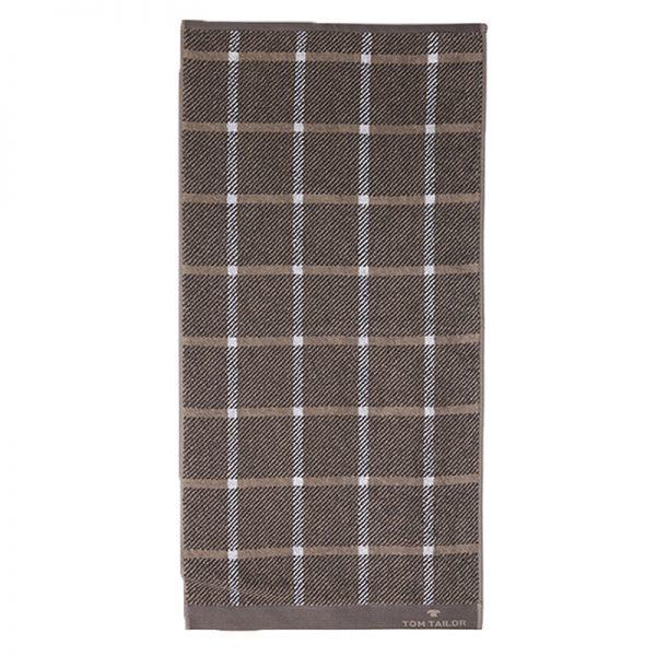 100-272 Jacquard Towel 100% COTTON 70X140Dark Grey