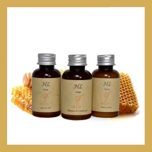 Honey Shower Gel Mπουκάλι A 40ml