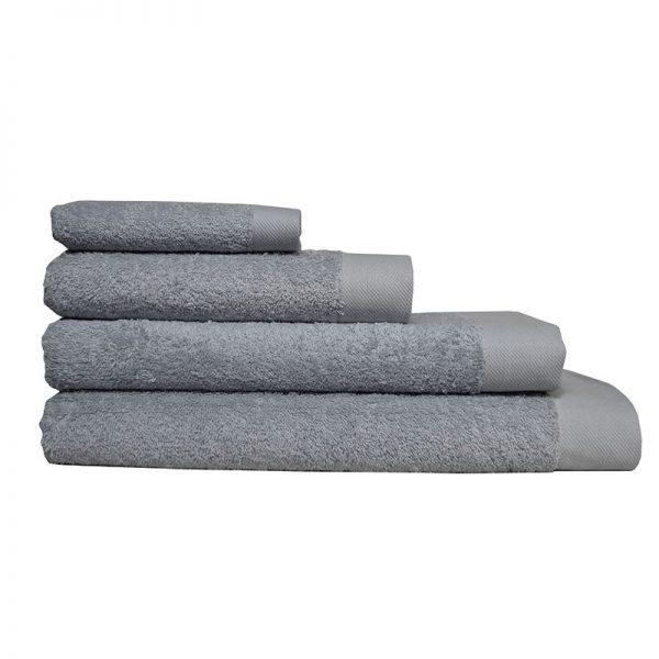 5001 Πετσέτα σε 4 Διαστάσεις 100%CΟΤ 550GR Light Grey
