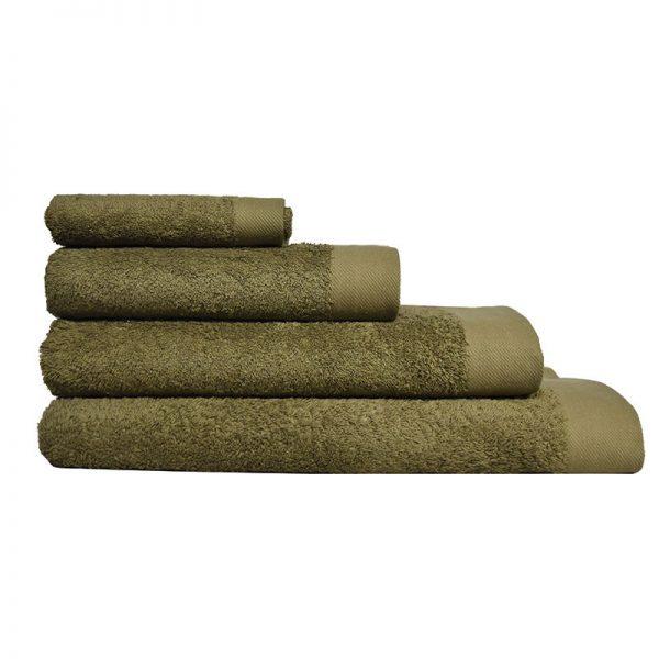 5001 Πετσέτα σε 4 Διαστάσεις 100%CΟΤ 550GR Olive