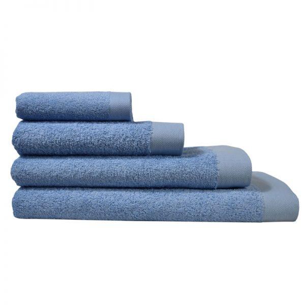 5001 Πετσέτα σε 4 Διαστάσεις 100%CΟΤ 550GR Light Blue