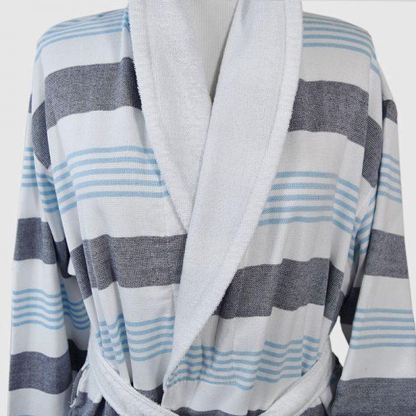 890 Μπουρνούζι Ρίγα Σιελ 100% Cotton