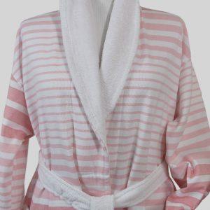 890 Μπουρνούζι Ρίγα Σομον 100% Cotton