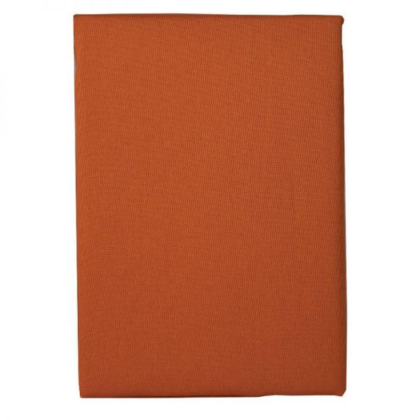 Τραπεζομάντιλο Polycotton Πορτοκαλί