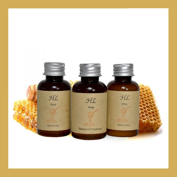 Honey Body Lotion Mπουκάλι A 40ml