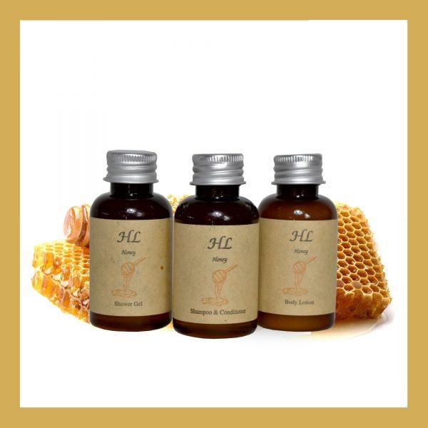 Honey Shampoo & Conditioner Mπουκάλι A 40ml