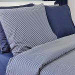 3142 Σετ Σεντόνι 100%CΟΤ Blue Stripe 2 διαστάσεις