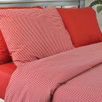 3142 Σετ Παπλωματοθήκη 100%CΟΤ Red Stripe 2 διαστάσεις