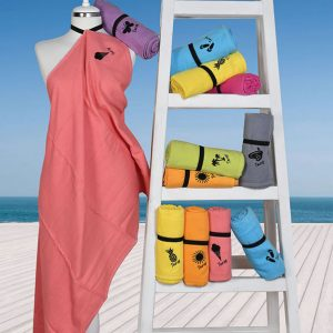 800 Πετσέτα Παραλίας 100% Cotton Τarzy 70Χ150 Πορτοκαλί