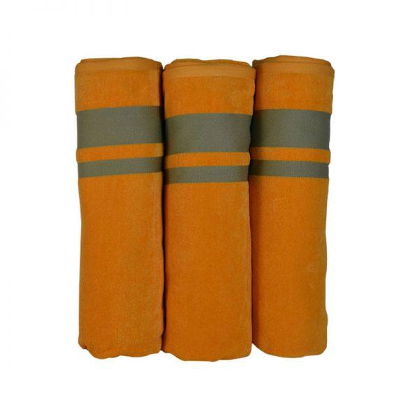 900 Πετσέτα Neon 100% Cotton Πορτοκαλί