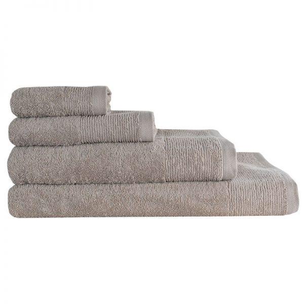 5004 Πετσέτα σε 4 Διαστάσεις 100%CΟΤ 500GR Beige Frappe
