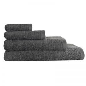 5004 Πετσέτα σε 4 Διαστάσεις 100%CΟΤ 500GR Medium Grey