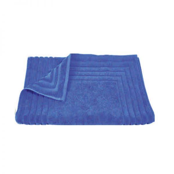 856 Ταπέτο Ζακάρ Ρίγα 100% Cotton 50x75 Μπλε