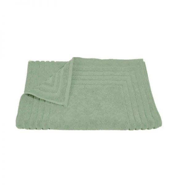 856 Ταπέτο Ζακάρ Ρίγα 100% Cotton 50x75 Πράσινο