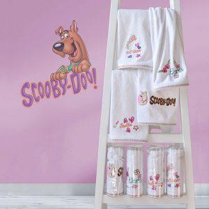 783 Πετσέτα Παιδική 50X90 Κέντημα Scooby Doo